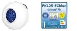 Prima Klima 125-ECblue multispeed 680 m³/h