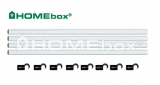 HOMEbox Fixture Poles 120 22 mm